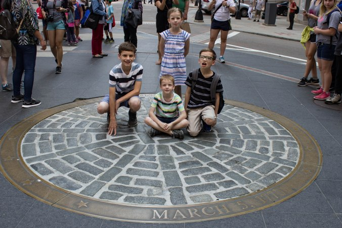 Site of the Boston Massacre - Boston Freedom Trail