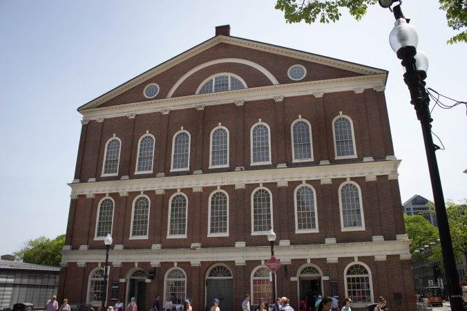 Faneuil Hall - Boston Freedom Trail