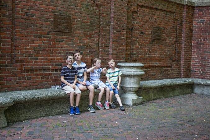 Paul Revere Mall - Boston Fredom Trail