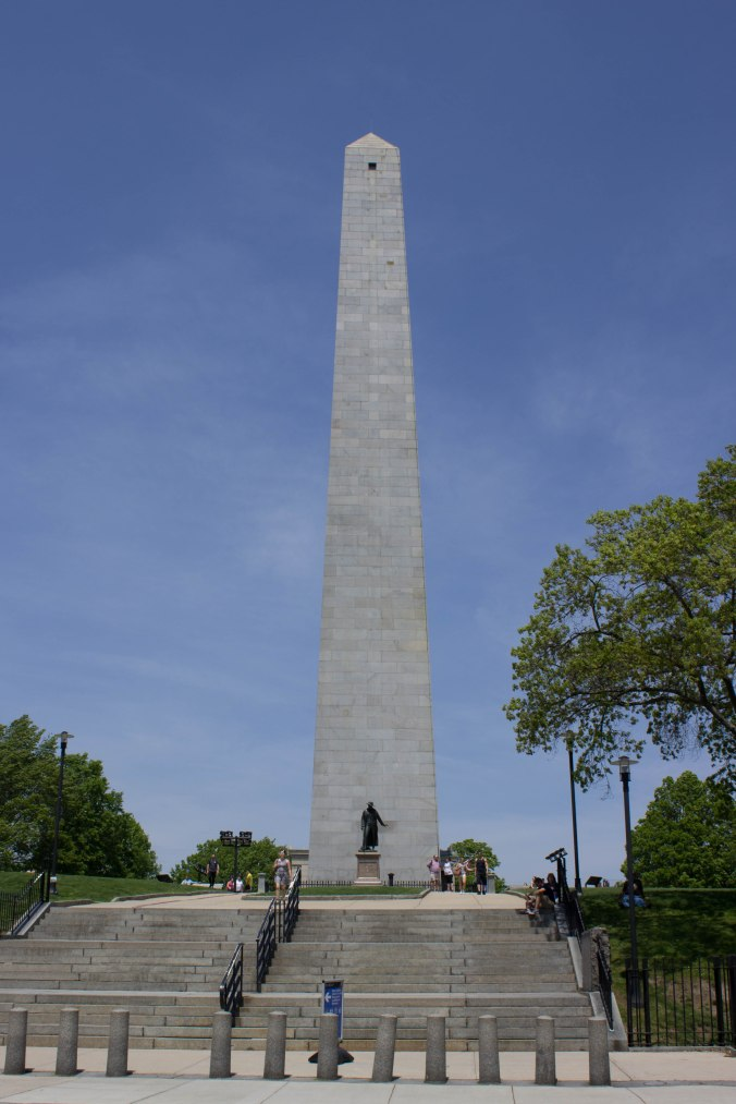 Bunker Hill Monument - Boston Freedom Trail - Charlestown Massacheusettes